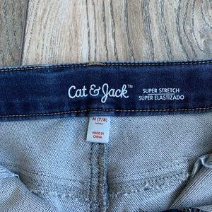 Cat & Jack Bottoms - Cat & Jack Stretchy Denim Skirt